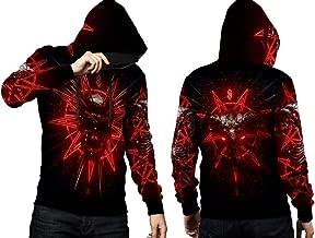 2season5 2019 New Album Slipknot Art 03 Full Print Mens T-Shirt and Hoodie