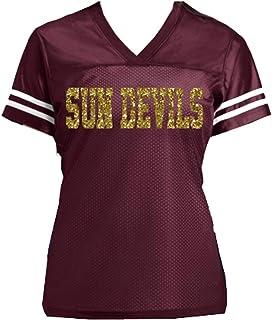 Sun Devils ASU - or choose any school or team name - Customizable Ladies  Glitter Jersey 4b9373188