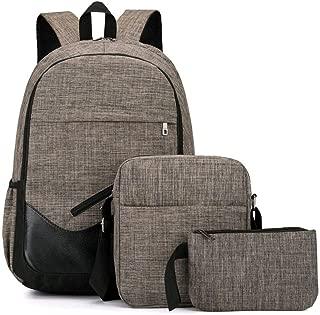 School Backpacks for Girls Boys, Hamkaw Teen Lunch Bag Set Bookbag Travel Daypack Kids Pencil Case