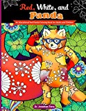 Red, White, and Panda: An Educational Red Panda Coloring Book for Adults and Children (Dr. Jonathan Terry's Educational Coloring Books)