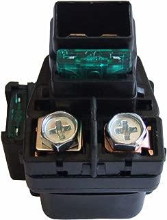 shamofeng Starter Relay Solenoid For Suzuki LTA LTF 400 500 Eiger 400 Vinson 500 2002-2007 Replace SUZUKI 31800-03G00