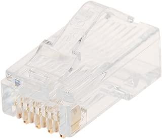 パンドウイット カテゴリ5E モジュラープラグ LANコネクタ 100個入り MP588-C