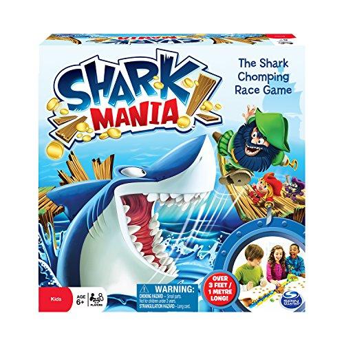 Spin Master 6024302 - Shark Mania, Brettspiel