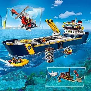 Amazon.co.jp - レゴ シティ 海の探検隊 海底探査船 60266