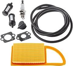 Hipa 4282 141 0300 Air Filter with 4 Feet Fuel Line Filter Spark Plug for STIHL BR500 BR550 BR600 Leaf Blower