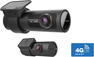 BlackVue DR900X-2CH (32 GB) UK Edition - 4K Ultra HD Front & Rear Dash Cam with 8-MP CMOS Sensor, Wi-Fi, GPS, Bluetooth, I...