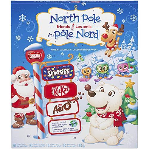 Nestlé Smarties, Aero, and Kitkat Advent Calendar, 365 Grams