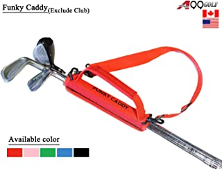 A99Golf C12 Funky Caddy Golf Bag Driving Range Carrier Sleeve Light Weight Red 1pc