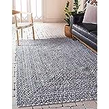 Sterling Jute Rug,Braided Rectangle Carpet for Kitchen,Bedroom, Hall, Various