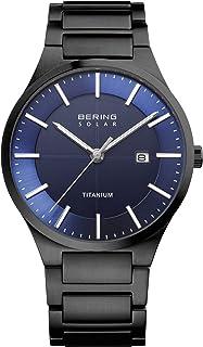 ساعة BERING الرجالية انالوج كوارتز مع حزام من التيتانيوم