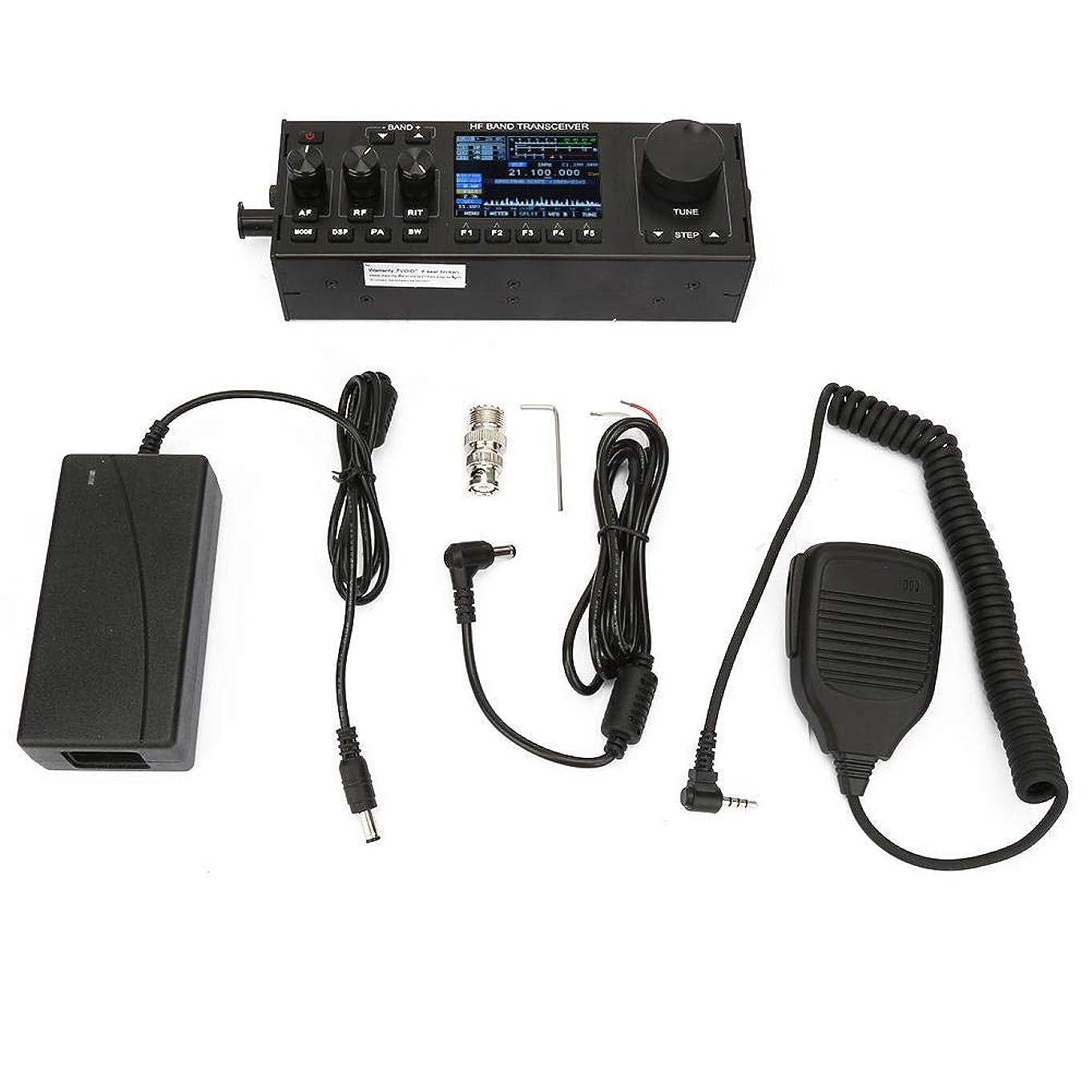 バケツ余韻ブレスTiktok HF SDRトランシーバ 短波ラジオ 10W QRPハムラジオ RS-918