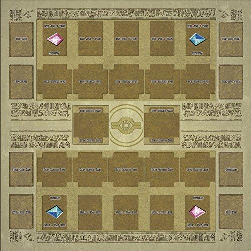 Gaddrt Spielzeuge 60x60cm Gummi Spielmatte Egypt Mural Style Competition Pad für Yu-gi-oh Karten