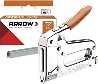 Arrow Fastener T25 Low Voltage Wire Staple Gun, Fits up to 1/4-Inch Wires