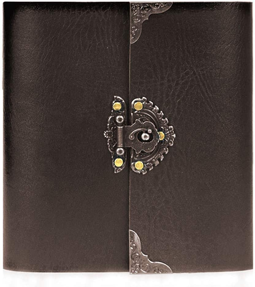 MeGaLuv Photo Album Leather Scrapbook Book Popular standard Memory Ma NEW before selling Hand
