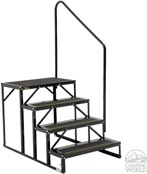 Stromberg Carlson EHS 103 R Park Model Econo Porch 3 Step Black