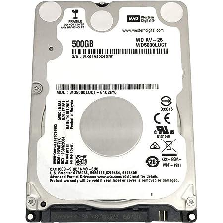 "500GB 2.5/"" Laptop HDD Hard Drive for TOSHIBA Satellite C55 C55-B5101 Notebooks"