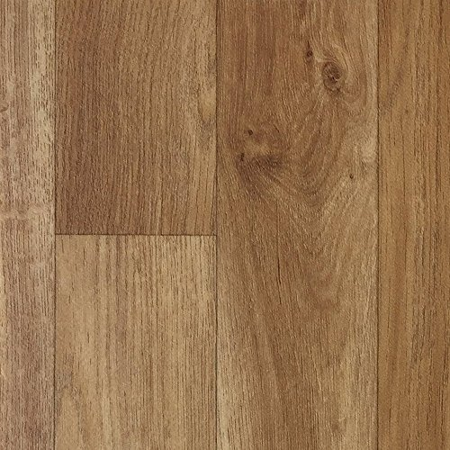 "PVC-Boden Deluxe | Paneele in rustikaler Eichenholzoptik ""Imperial Oak"" | Zeitloses-Design | Antistatische-Oberfläche | Maß pro Planke 22.86 x 121.92cm | 26,72m²| CV-Boden für den gesamten"