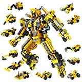 Panlos Robot STEM Toy Engineering Building Blocks Building Bricks Toy kit - for Boys 6 Years Old or Older Tight Fit and Compatible with All Major Brands 573 PCS