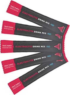 Tactical Hydration, Instant Electrolytes, Reduce Fatigue, Prevent Dehydration, Eliminate Cramps (Fruit Punch, 25 Stick Packs)