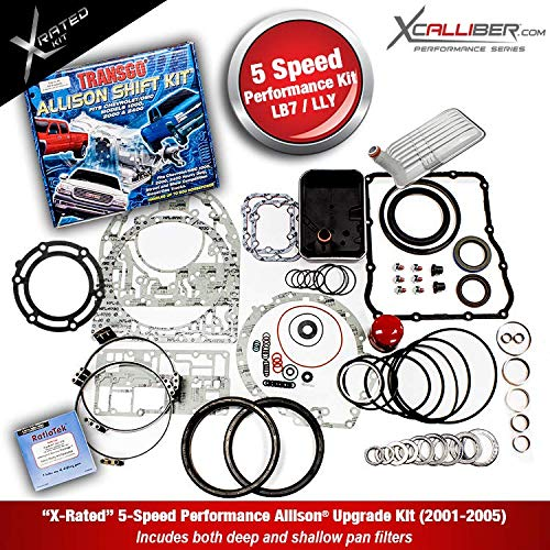 XCALLIBER (29545311-X) - Performance Rebuilt Kit for DURAMAX/GM, 5 Speed ALLISON 1000 Series Transmissions, LB7, LLY