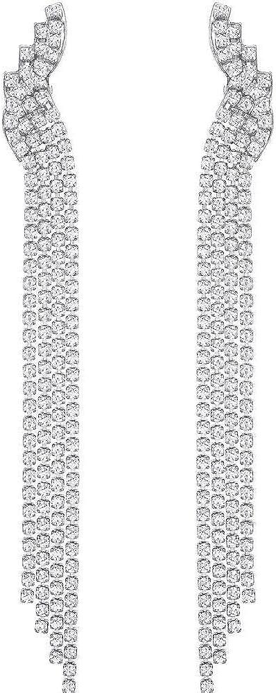 Swarovski orecchini a pendolo e goccia donna 5409450
