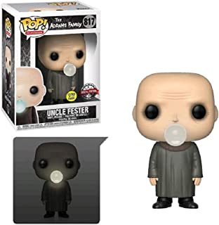 Funko Pop! TV: The Addams Family - Uncle Fester with Light Bulb (Exclusive)