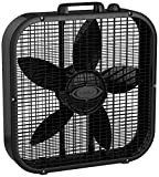 Lasko Black Dècor Colors 20″ Box Fan