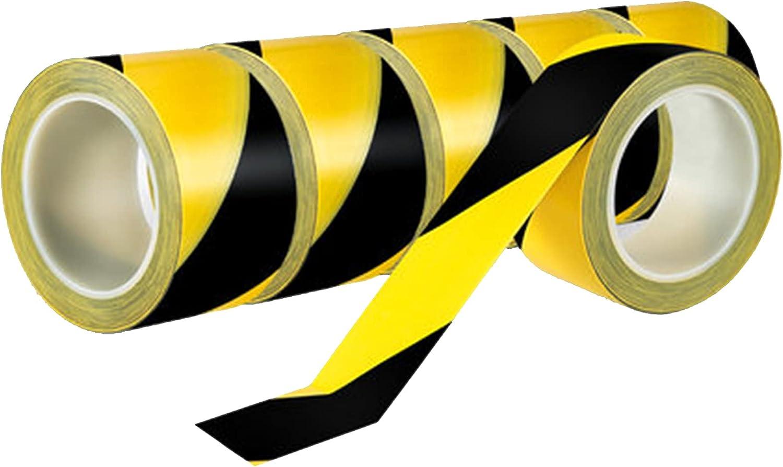 VERDELZ Premium Bombing new work Red supreme White Hazard Warning Adhe 60mm33m PVC - Tape