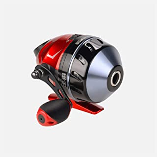 KastKing Cadet Spincast Fishing Reel, Trouble-Free Push-Button Bait Casting Design, Dual Stainless-Steel Pickups, Low-Profile Design, Pre-Spooled with Monofilament Line