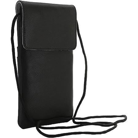 Brustbeutel 1-2 Stück Brusttasche mit Reißverschluss und Kordel Umhängetasche