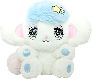 Peropero Sparkles Plush Stuffed Animal - Cute Collectible and Cuddly Toy Character - Ultra-Soft Polyester Fabric - Authentic Japanese Kawaii Design - Premium Quality (Melo Large)