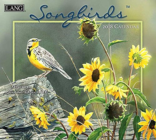 Songbirds 2018 Calendar: Includes Downloadable Wallpaper