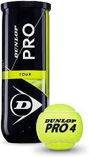 DUNLOP Pro Tour Bote 3 Pelotas Tenis, Adultos Unisex ...