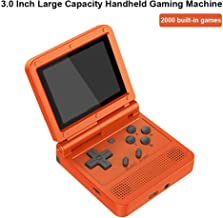 Handheld Game Console, V90 Classic Games 3.0 Inch 1020mAh HD LCD Screen Portable Video Game, Retro Game Console 2000 Class...