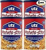 UTZ Original Potato Stix, 15oz Can (Pack of 4, Total of 60 Oz)