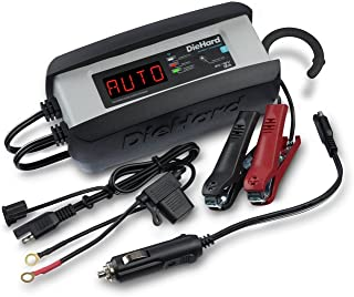 DieHard 30485 Wi-Fi 3 Amp 6/12V Compact Wifi Smart Battery Charger and 3A Maintainer
