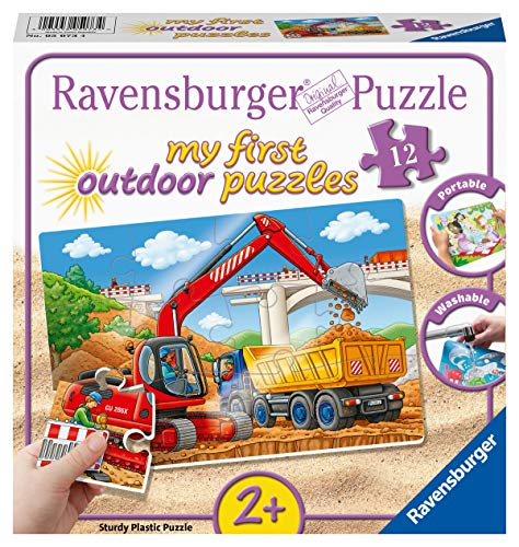 Ravensburger Kinderpuzzle 05073 - Meine Baustelle - my first puzzles outdoor