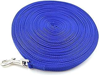 cycle product 中型 大型 犬用 ロング リード 30m トレーニング 愛犬 散歩 (ブルー)