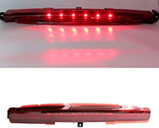 Third 3rd Brake Light Lamp for 2002-2009 Chevy GMC Buick Center High Mount Stop Light (Red Lens)