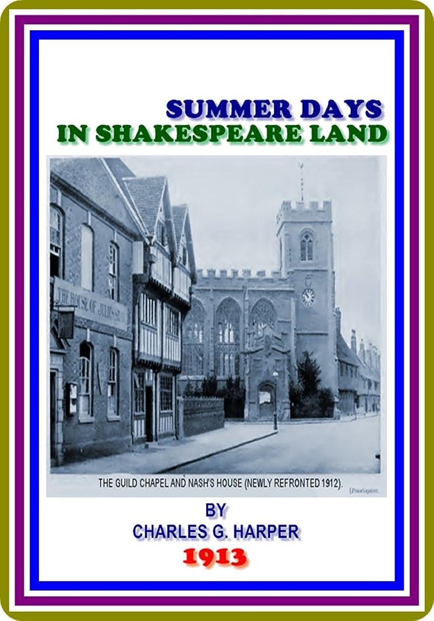図書館る自治Summer Days in Shakespeare Land by Charles G. Harper : (full image Illustrated) (English Edition)