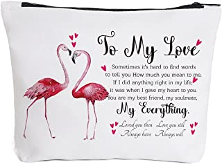 Gifts for Girlfriend Wife Women Future Mrs. Bride - to My Love - Anniversary for Her Romantic Wedding Christmas Birthday G...