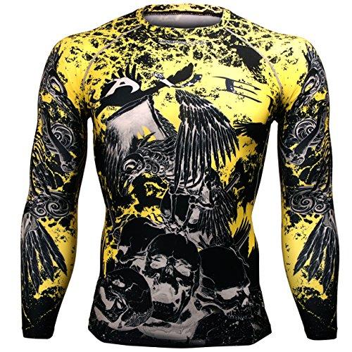 btoper Forma Unisex Running Compression Camiseta MMA Manga Larga FX/ /125