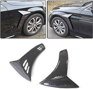 fits for Mercedes Benz W204 C63 AMG Facelift Sedan 2012 2013 2014 Carbon Fiber Front Fender Air Vent Panel Cover Trim Scoop Spoiler JC SPORTLINE C63 CF Side Air Insert Vent Trim