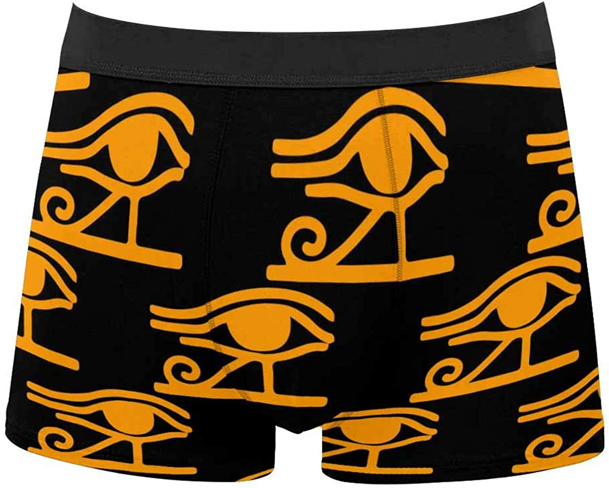 InterestPrint All Over Print Classic Fit Boxer Briefs for Men, Youth Succulents Cactus and Pots