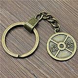 YCEOT Gewichtheben Gewicht Film Keyring Gewichtheben Gewicht Film Keychain 28X24Mm Gewichtheben...
