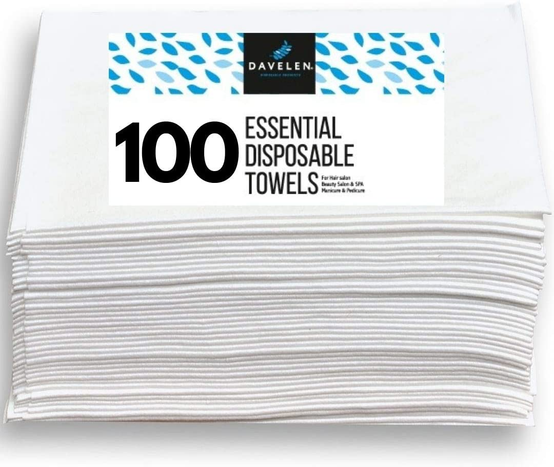Essential Disposable Hair Towel Latest item for Women 100 inch 32 16 Special price a limited time Pack X