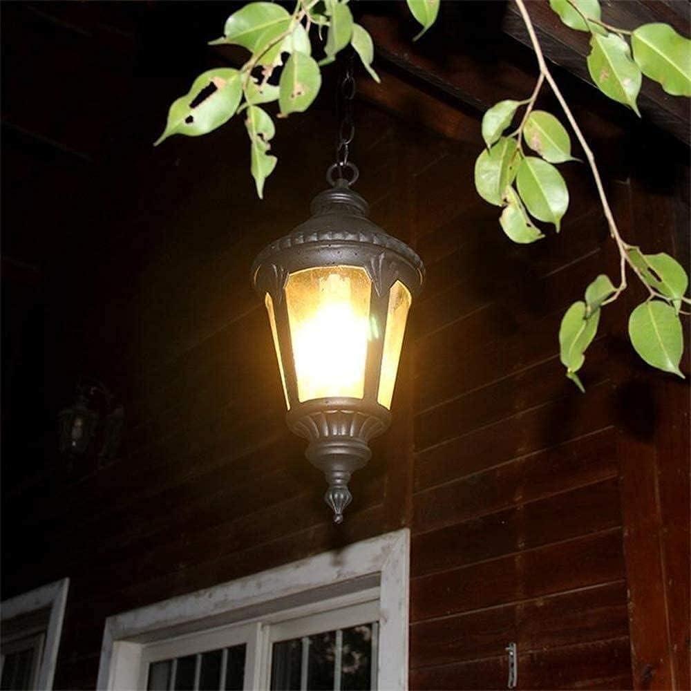 Fashionable YANFUY Solar Louisville-Jefferson County Mall Garden Lights Reisx E27 Light Lig 1 Outdoor Pendant