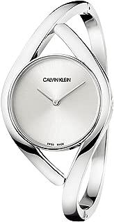 Womens Analogue Quartz Watch with Stainless Steel Strap K8U2M116