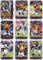 Denver Broncos 2014 Topps Complete Regular Issue 17 Card Team Set Including 3 Different Peyton Manning Cards, Wes Welker, Demaryius Thomas Plus