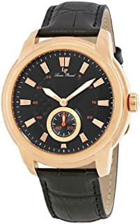 Duval Dress Black Dial Men's Watch 40032-RG-01